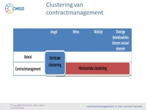 clustering-van-contractmanagement